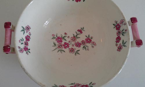 Pattern i/287 small covered bowl top minus lid