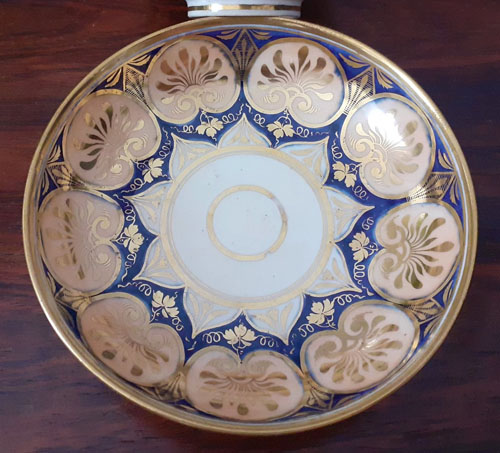 Pattern 396 saucer front
