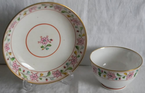 Pattern 2/415 cup and saucer