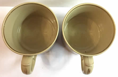 Pattern 776 pair of mugs top