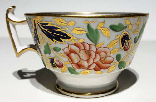 Pattern 2/138 tea cup right side