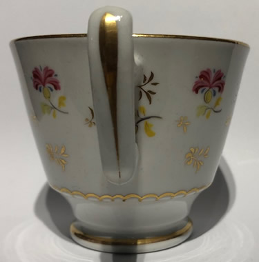 Pattern 2/437 coffee cup handle side