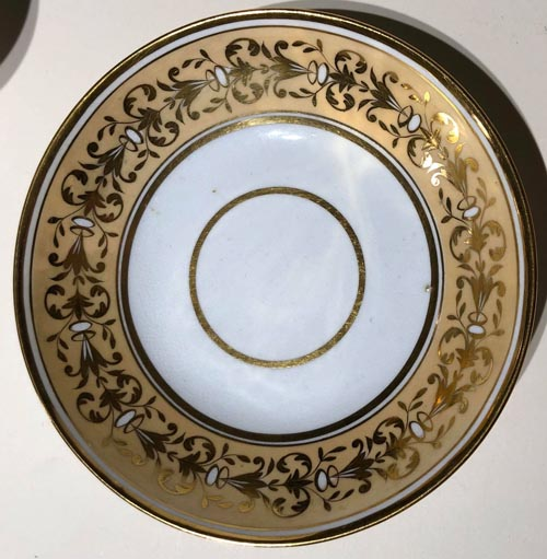 Pattern 2/444 saucer front