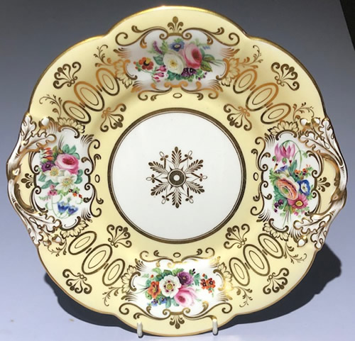 Pattern 5/460 bread and butter plate front