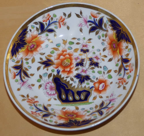 Pattern 2/729 saucer front