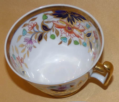 Pattern 2/729 tea cup top view