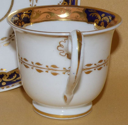 Pattern 2/934 coffee cup handle side
