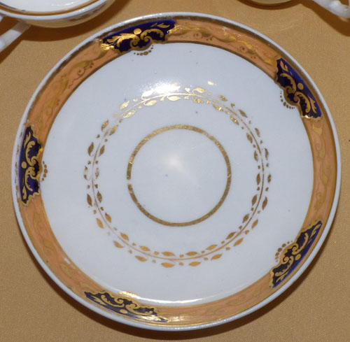 Pattern 2/934 saucer front