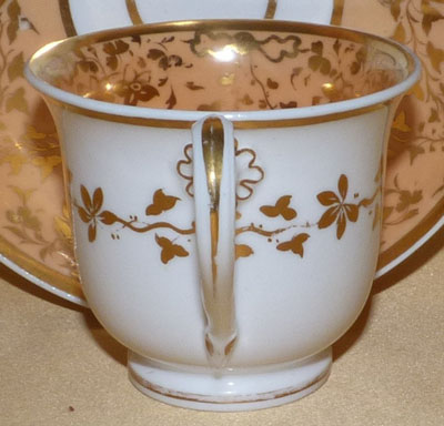 Pattern 2/937 coffee cup handle side