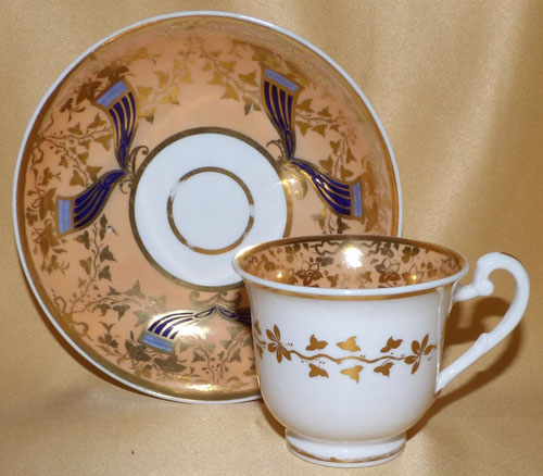 Pattern 2/937 coffee cup and saucer