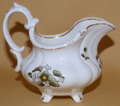 Pattern 2/3296 creamer right side