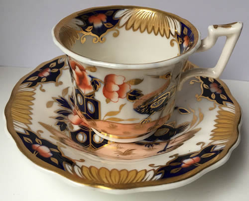 Pattern 2/1213 coffee cup and saucer side view