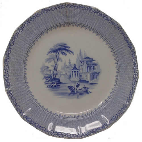 Aladdin dinner plate front