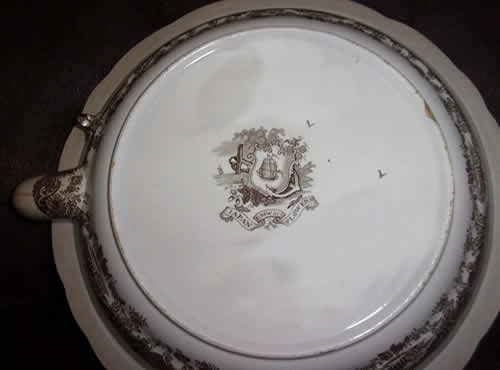 Japan Flowers warming plate back
