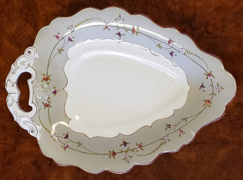 Pattern 965 leaf dish top