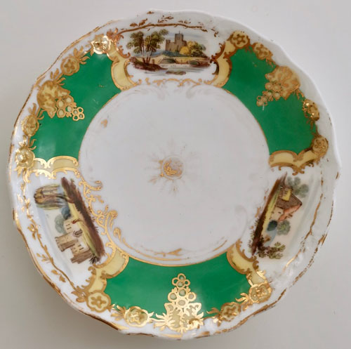 Pattern 2/428 saucer front
