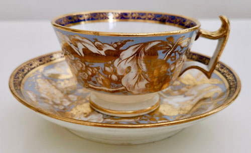 Pattern 498 tea cup and saucer