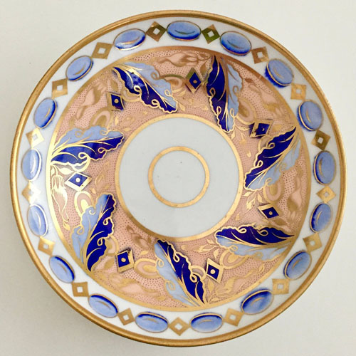 Pattern 2/280 saucer front