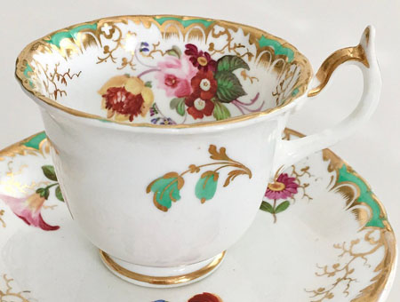 Pattern 1475 coffee cup side
