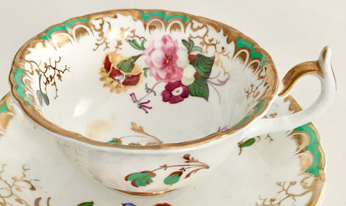 Pattern 1475 tea cup side